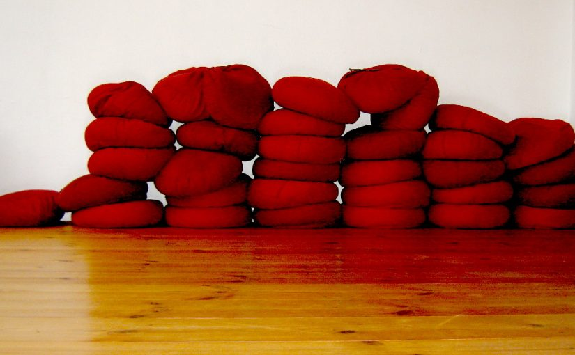 Cushions at Somatische Akademie Berlin, January 2018