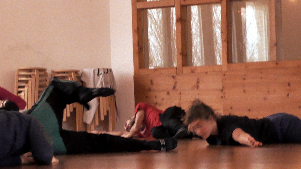 Warming up on Grounding & Fragile Balances Workshop at Somatische Akademie Berlin, January 2018