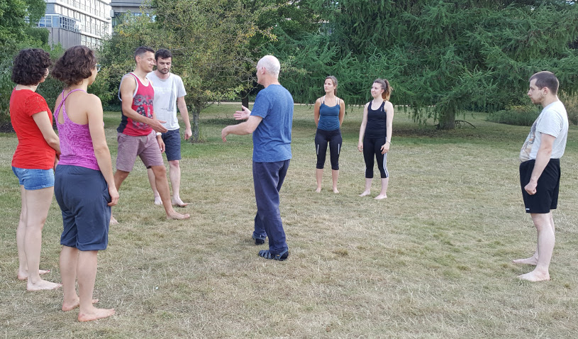 Dance in the Park (Andy Solway teaching), 7 July 2017, University Parks Oxford
