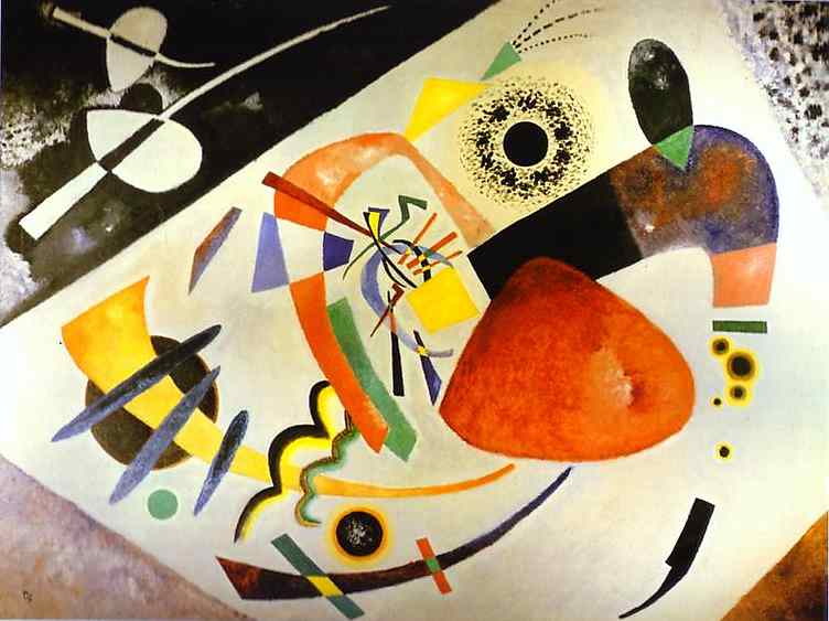 Photo of Wassily Kandinsky painting by https://www.flickr.com/photos/89375755@N00/ under a Attribution 2.0 Generic (CC BY 2.0) license