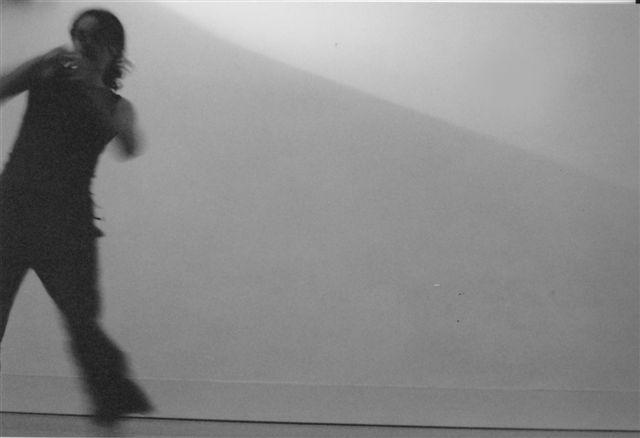 Jo Dyer dancing